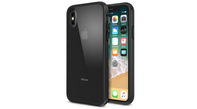 Maxboost iPhone X Clear Case with GXD GEL