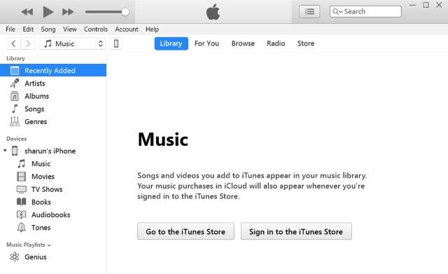 Abrir iTunes