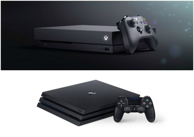 PS4 Pro Xbox One X Price Difference