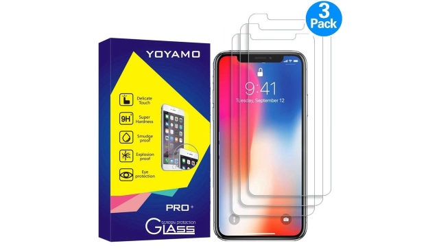 Yoyamo iPhone X Tempered Glass Screen Protector