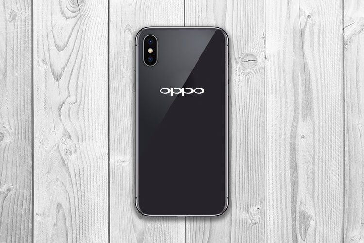 The Oppo R13 Leaks, Looks Exactly Like the iPhone X