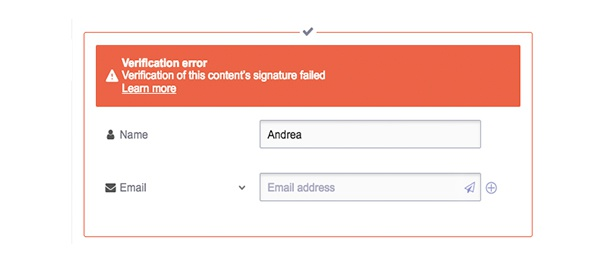 protonmail contacts error