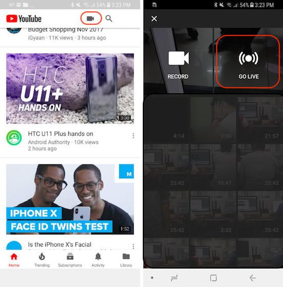 Schedlue-Livestream-auf-Youtube-1 verschwommen