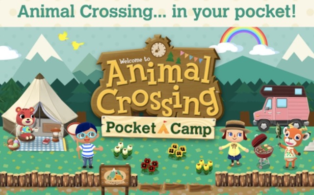 10 - Animal crossing pocket game