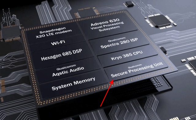 qualcomm snapdragon 845 chip