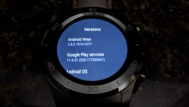 Android Wear Version