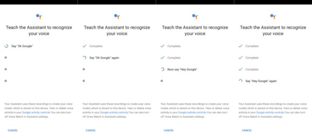 Google Assisstant Hotword Teaching