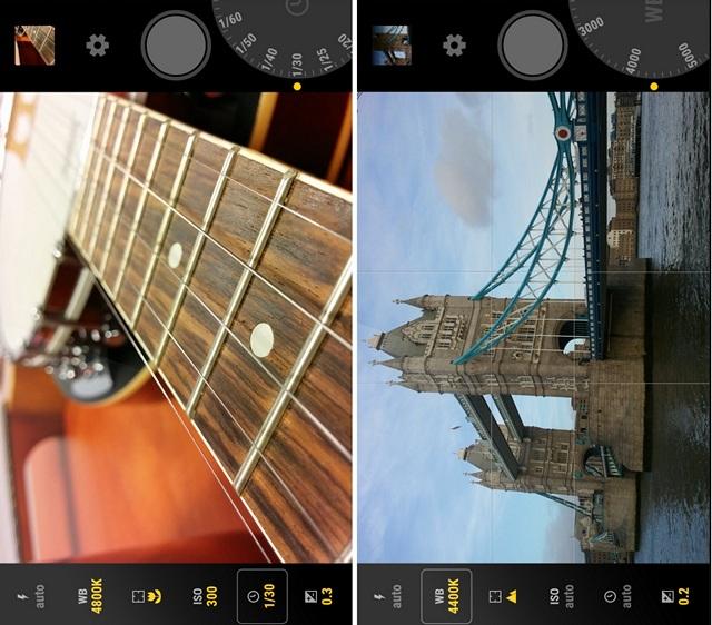 Manual Camera Screenshots