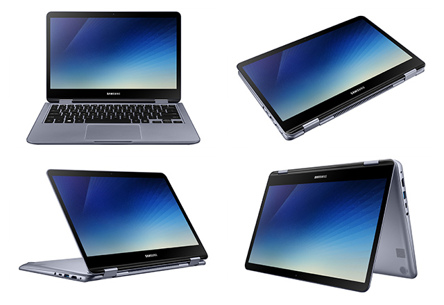 Refreshed Samsung Notebook 7 Spin Launched Ahead of CES 2018