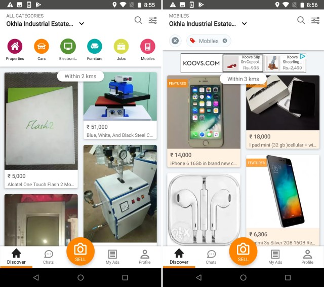 olx apps free download for android