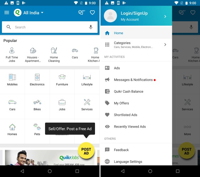 Olx in quikr app download / Antic coin india value details