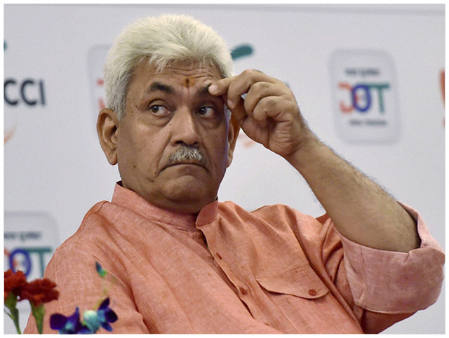 Telecom Minister Manoj Sinha