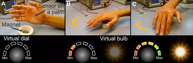 Thin Electronic Tattoo Makes Your Palms The New Remote Control