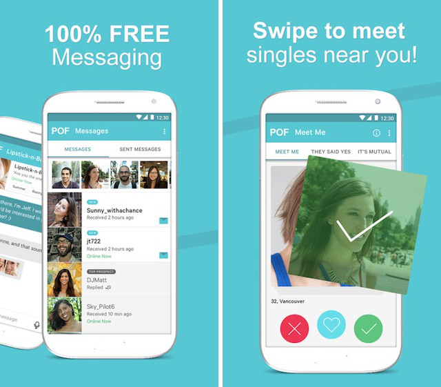 Are plenty of fish hookup app for android topic