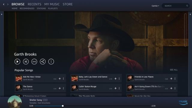 Amazon Music Windows 2