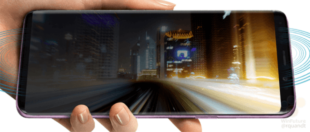 Galaxy S9 screen leak