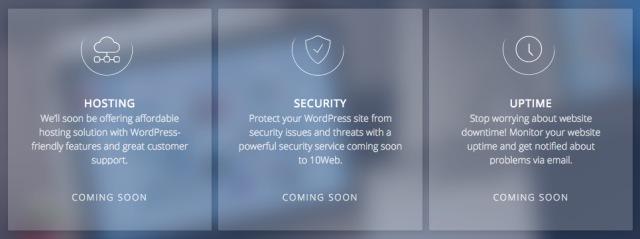 coming soon 10web