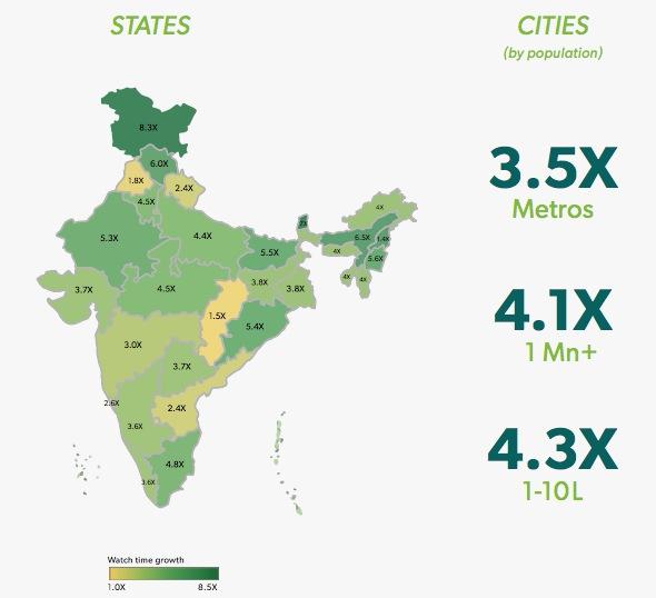 hotstar india map