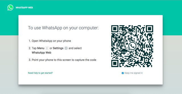 whatsapp web new interface