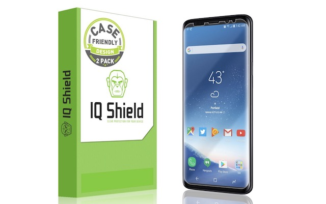 1. IQShield Galaxy S9 Plus Screen Protector