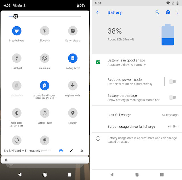 11. Changes to Battery Saver Modes
