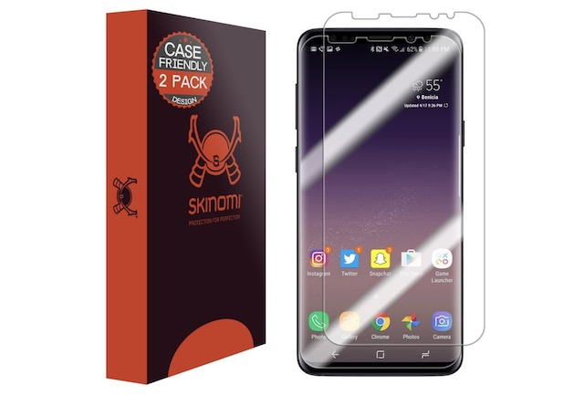 3. Skinomi Screen Protector for Galaxy S9 Plus
