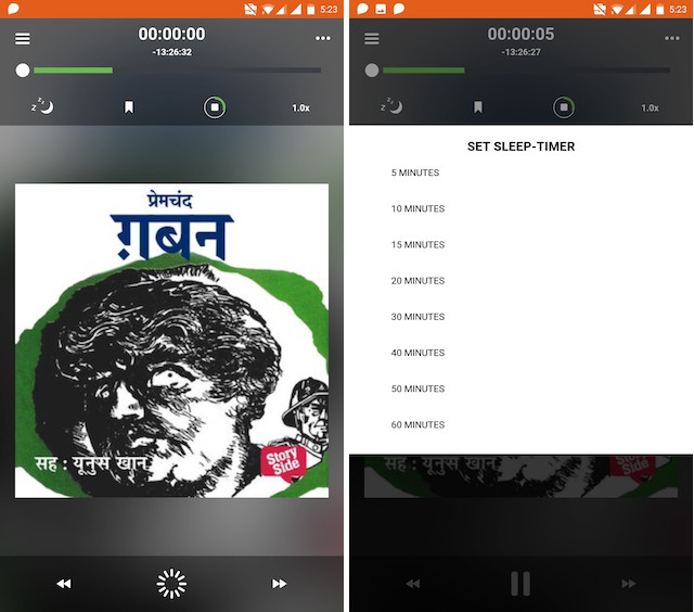 5. Audiobook Player Features