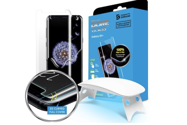 5. Dome Glass Galaxy S9+ Screen Protector