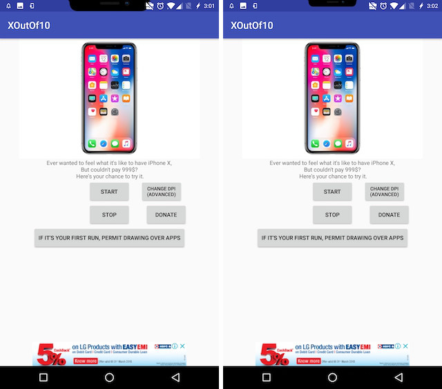 8. Get Android P Notch Emulator 3