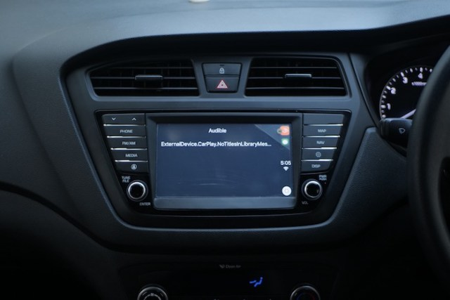 Audible carplay