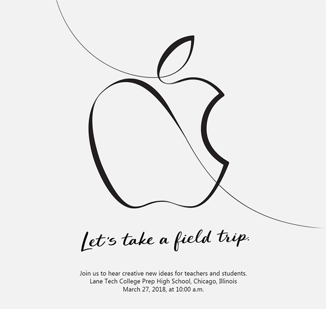 Apple to Host an Event on March 27 Focussed on Education