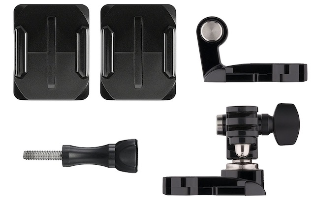 10. GoPro Helmet Front and Side Mount