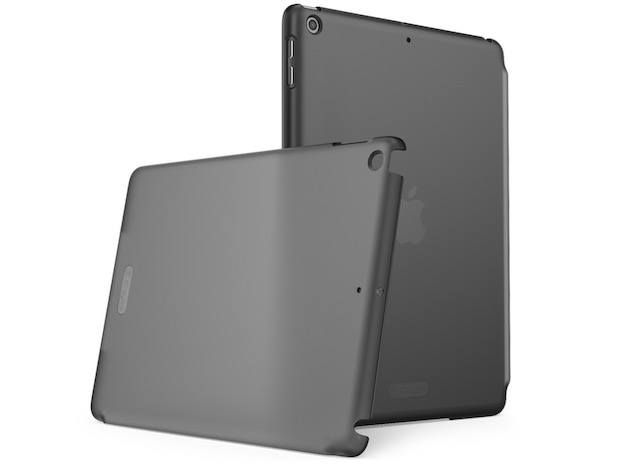 4. Clayco Clear Back Protector Case for iPad 2018