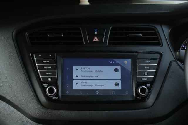 Android Auto notification
