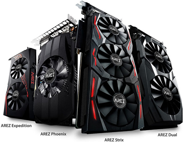 Asus AREZ cards
