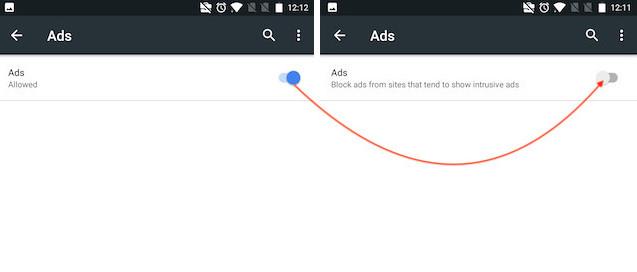 Bloquear anuncios intrusivos de forma nativa en Google Chrome 4