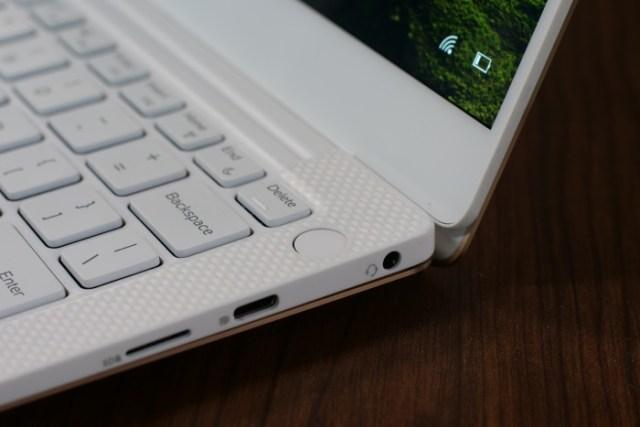 Dell XPS 13 Power Button Fingerprint Sensor