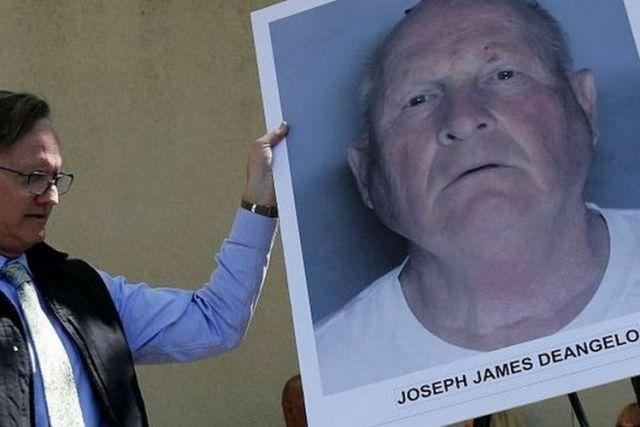The alleged Golden State Killer \ Image Courtesy EPA