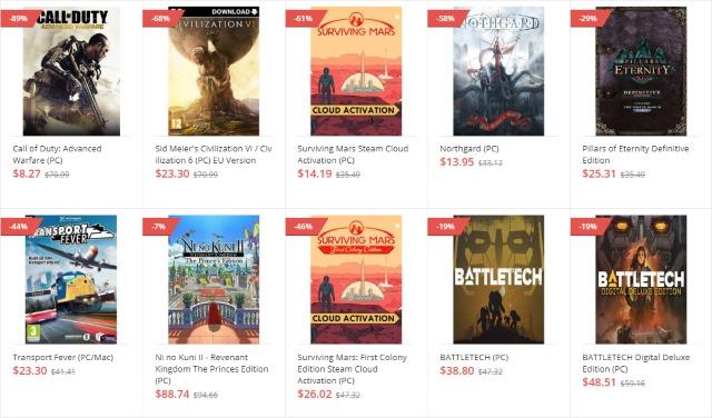 GoodOffer24 List of Games