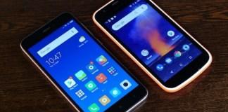 Nokia 1 vs Redmi 5A
