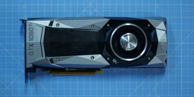 Nvidia GeForce GTX 1080 Ti Founders Edition Thermal 2