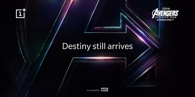 Avenger-Themed OnePlus 6 Coming to India on April 27