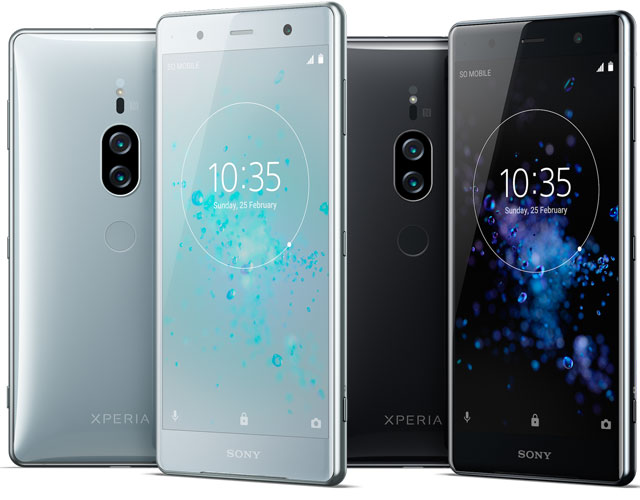 Sony Xperia XZ2 Premium With 4K HDR display