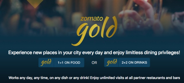 zomato gold offers