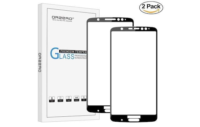 10. Orzero For Motorola Moto G6 Plus Screen Protector