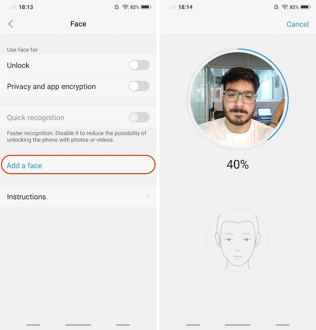 12. Face Unlock and App Lock 2