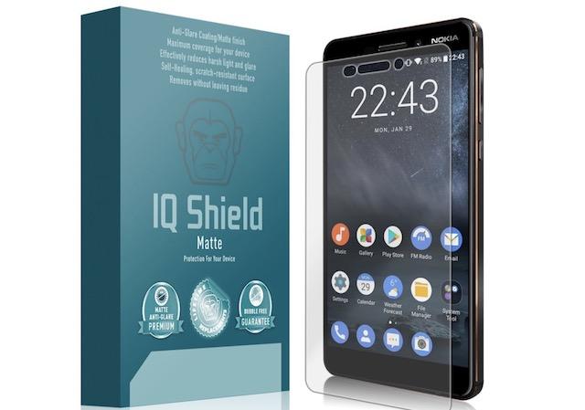 6. IQ Shield Full Coverage Screen Protector for Nokia 6.1