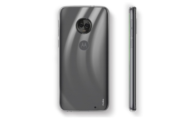 8. Aeska Flexible TPU Gel Case For Motorola Moto G6 Plus