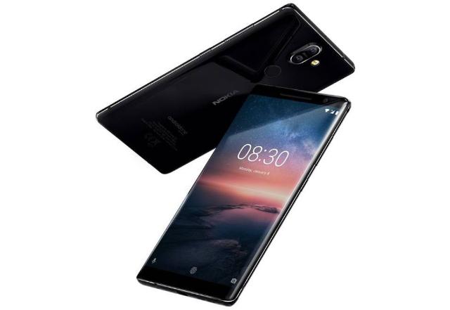 8. Nokia 8 Sirocco