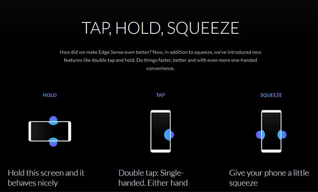 HTC U12 Plus Edge Sense